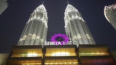 Suria KLCC dan Petronas tukang jalan jajan