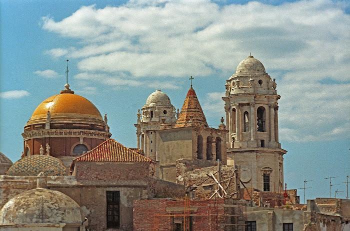 Cadix, Cathédrale Santa Cruz, © L. Gigout, 1991