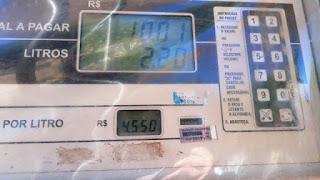 Petrobras aumenta preço da gasolina