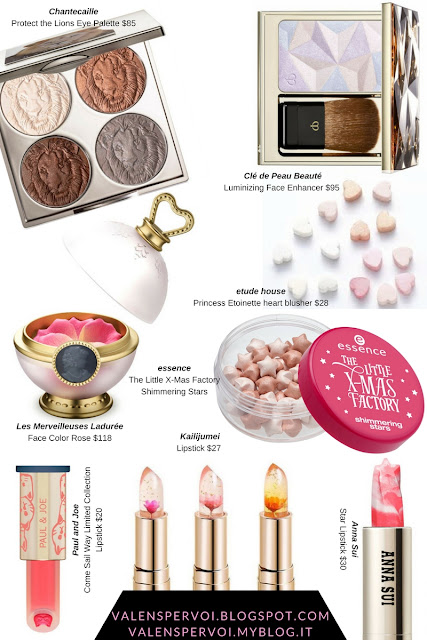 The most beautiful make-up products: 3D pans and creative packaging. Artistic lipsticks, 3D blushes and highlighters