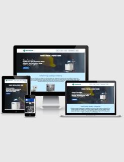 Domino Coding Blogspot Landing Page Responsive