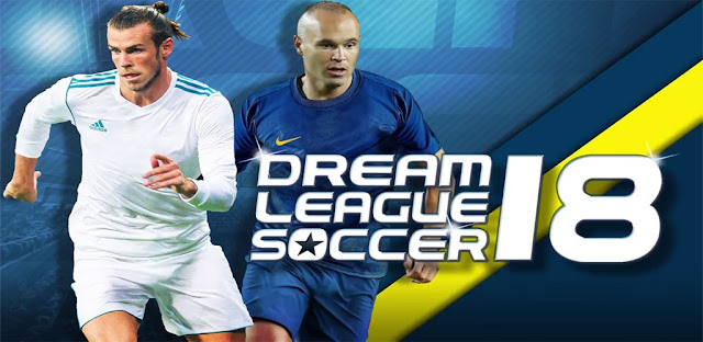 Download Dream League Soccer 2018 v5.03 Mod Apk+Data