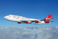 Virgin Atlantic will fly the first commercial flight on recycled waste gas from a steel mill. LanzaTech first converted the gas to ethanol and then using technology developed by PNNL upgrade the ethanol to fuel that has been approved for commercial aviation -- an alcohol-to-jet synthetic paraffinic kerosene. (Credit: Virgin Atlantic) Click to Enlarge.