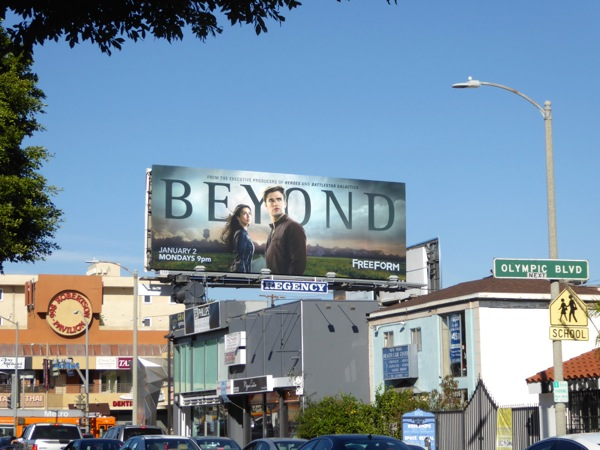 Beyond TV series billboard