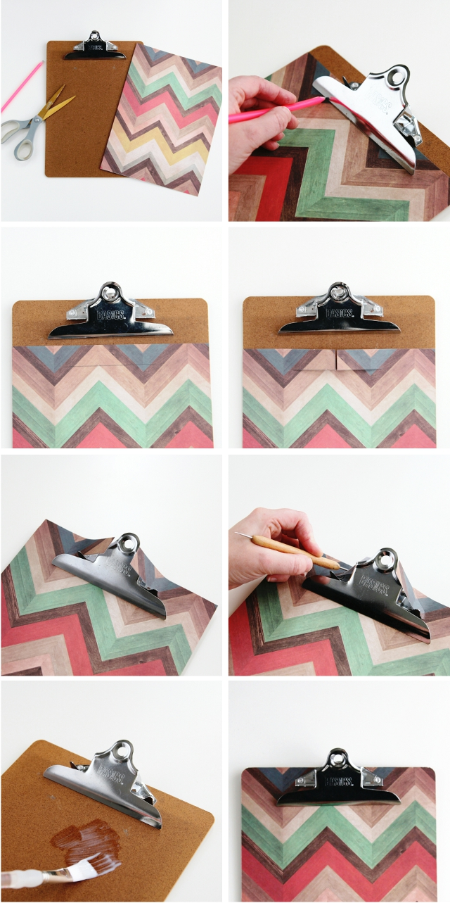 How to make Diy Expandable Pocket Clipboards