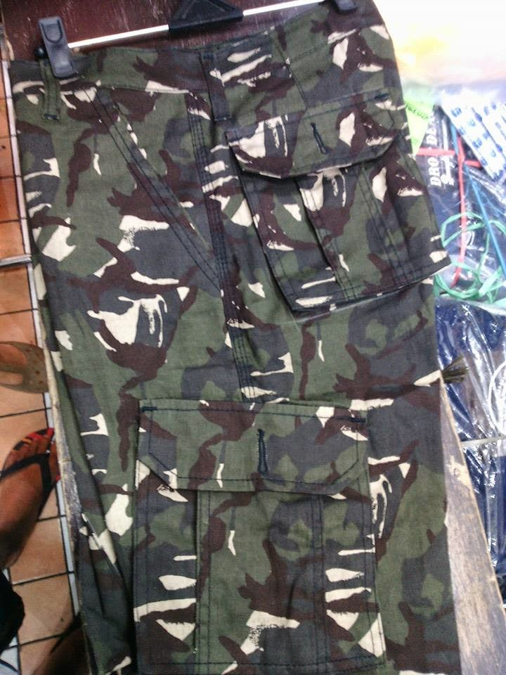 Celana Jeans, Celana cargo DC, Celana Tentara, Celana Pendek, Celana Kantong,