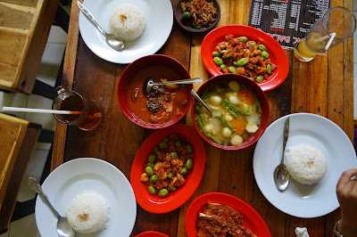 Makanan Melayu ala Pontianak di Pondok Balado