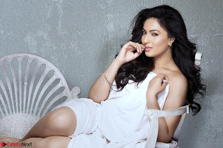 Nikesha Patel looks super cute in white dress must see