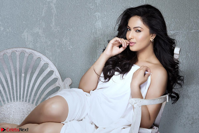 Nikeesha Patel in White Short Dress ~ Exclusive Celebrity Galleries 003.jpg