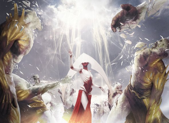 Igor Kieryluk deviantart arte ilustrações fantasia games magic gathering