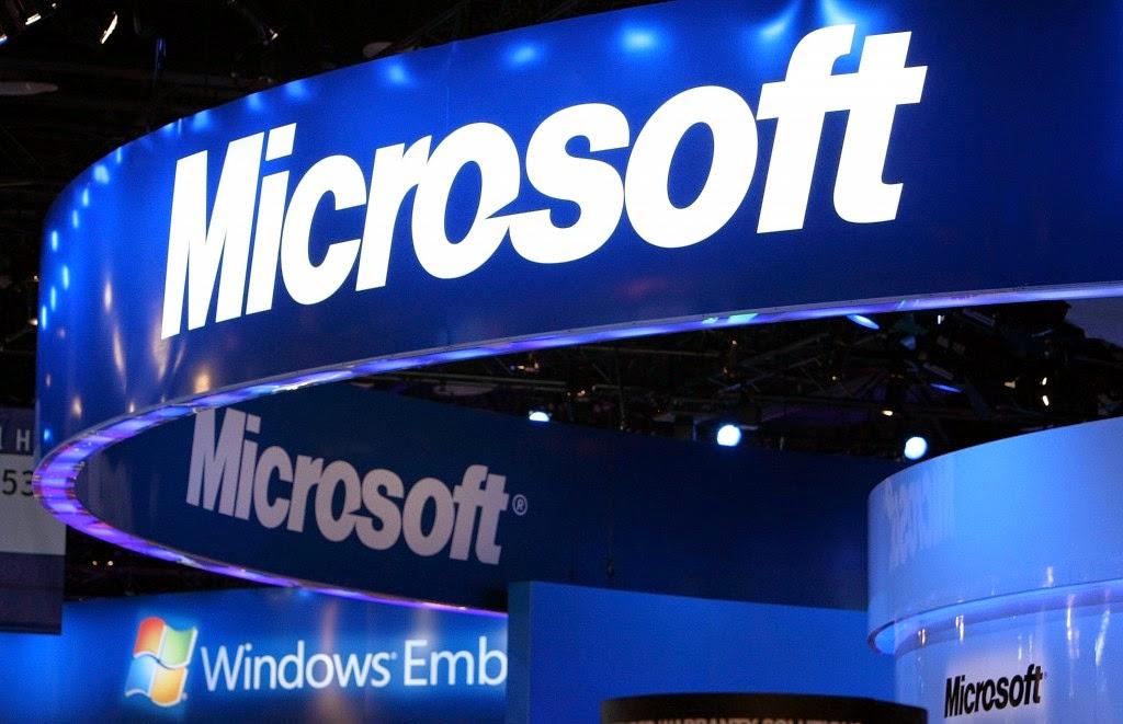 Larangan Microsoft di cina