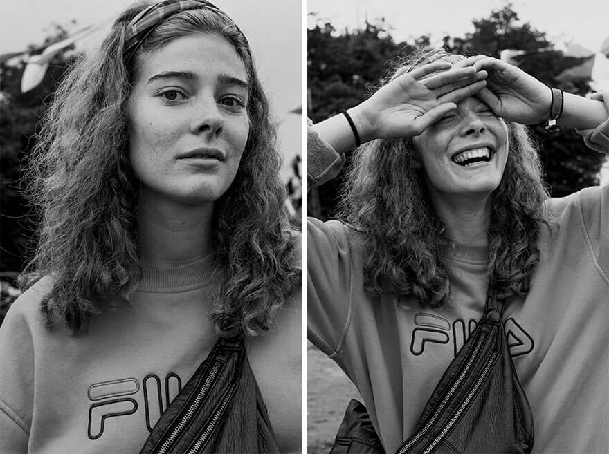 10 Beautiful Pictures Of People On The Street Before & After Photographer Kissed Them