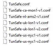 فیلترشکن آزادنت: فیلترشکن TunSafe VPN برای عبور از فیلترینگ