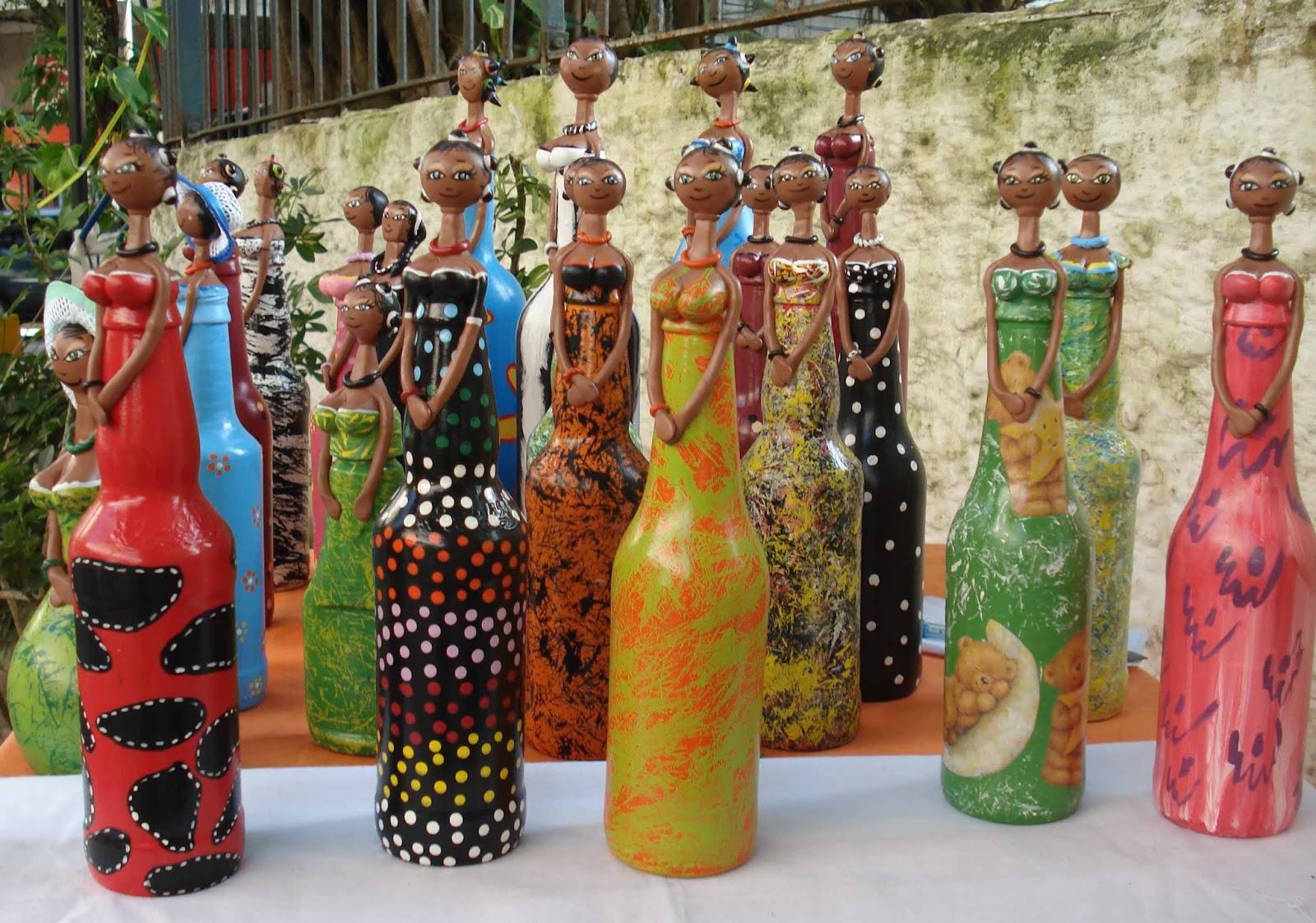 Tudo pra casa ideias criativas reciclagem bonecas de for Decoracion e