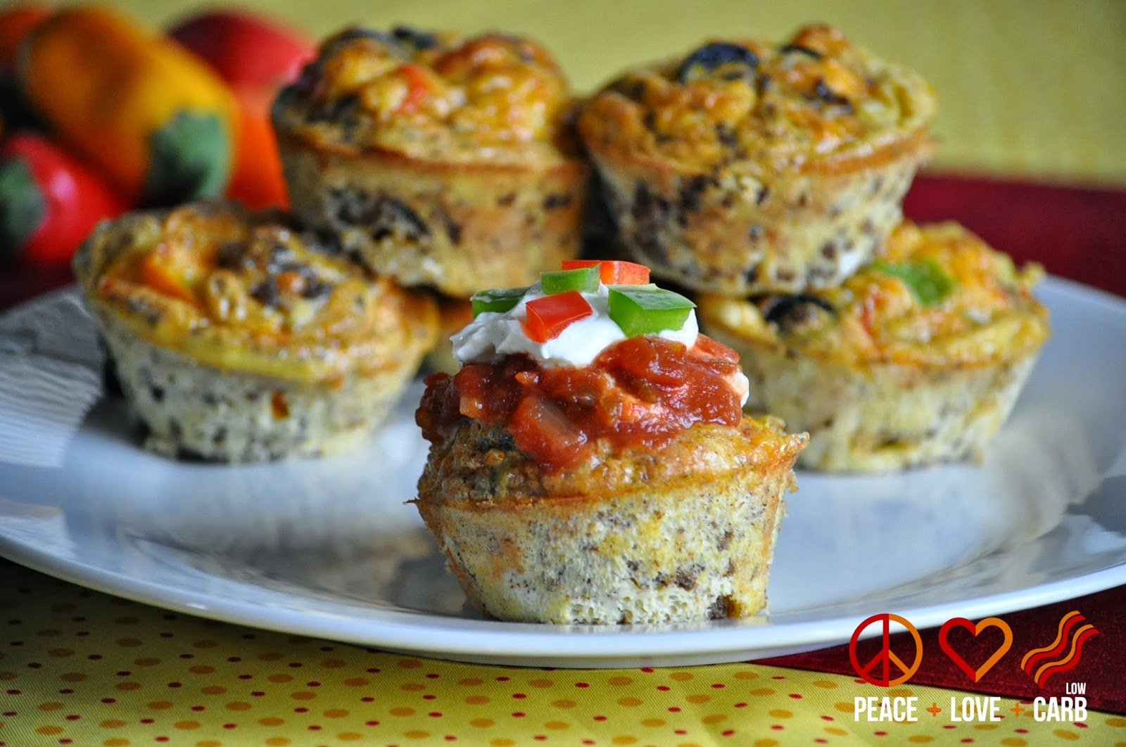 Low carb recipes egg muffins