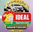 Promoção 20 Anos Ideal Supermercados