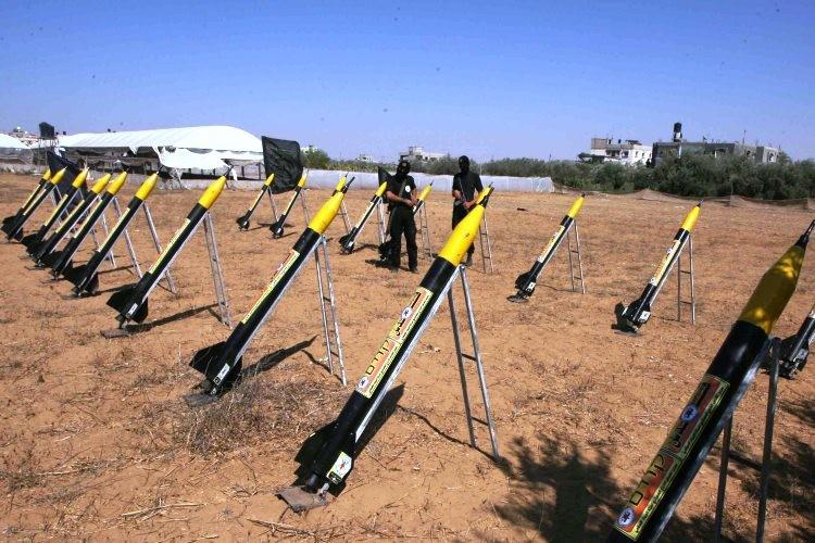 Mengagumkan, Video Serangan Balik Roket-Roket Hamas ke Israel