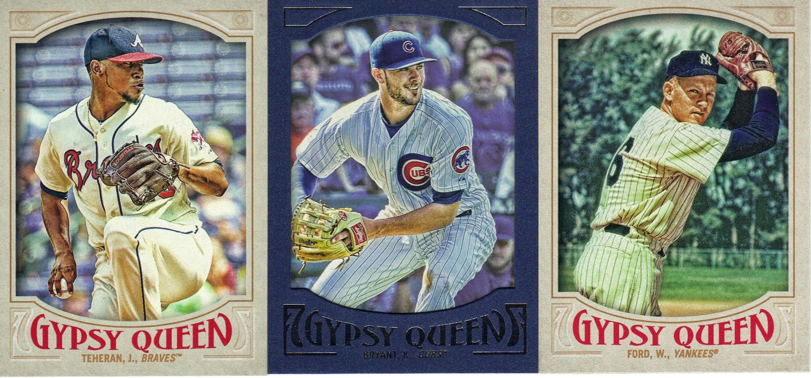 Nothing If Not Random 2016 Gypsy Queen Baseball Cards