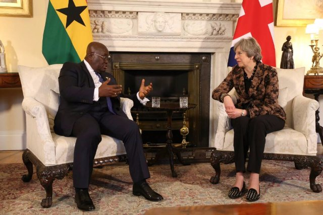 UK will strengthen trade relations with Ghana - May promises
