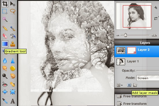 tutorial Double Exposure