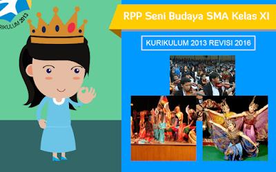 Download RPP Seni Budaya SMA Kurikulum 2013 Kelas XI Revisi 2016