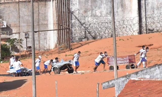 Já são 125 mortos no sistema prisional deixado pelo PT