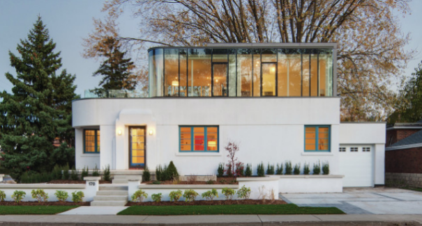 Renovating Revives An Aging Art Deco Home