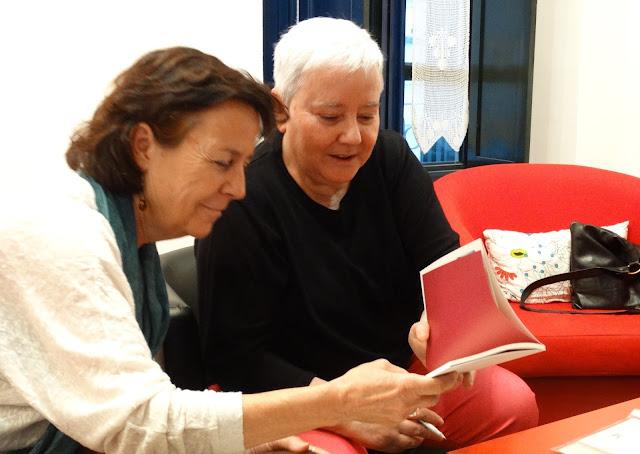 LOLA CALLEJÓN lee su poema EL TIEMPO COMO PRUEBA