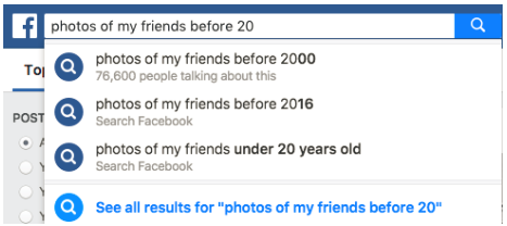 Search For Facebook