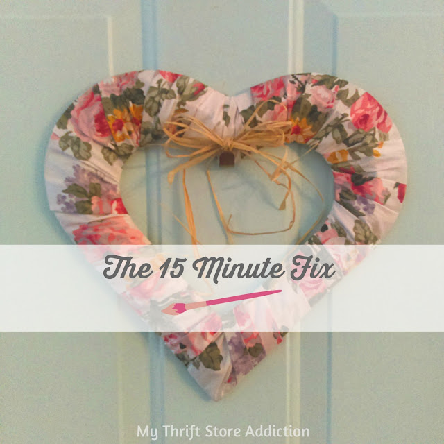 15 minute heart wreath