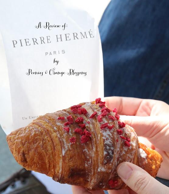 Pierre Herme Ispahan Croissant AKA the best croissant in Paris!