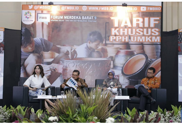 diskusi forum merdeka barat 9 tentang tarif khusus pph bagi pelaku umkm kemenkoinfo nurul sufitri