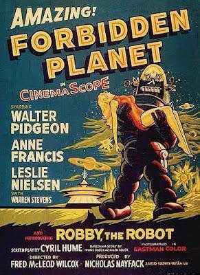 Forbidden Planet Poster