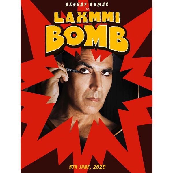 Laaxmi Bomb new upcoming movie first look, Poster of Akshay, KIara next movie download first look Poster, release date