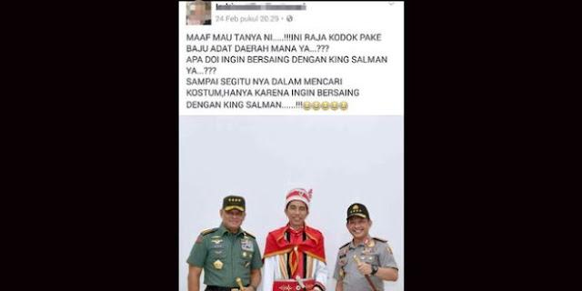 Hina Jokowi Raja Kodok, pria Ini Diringkus Aparat.