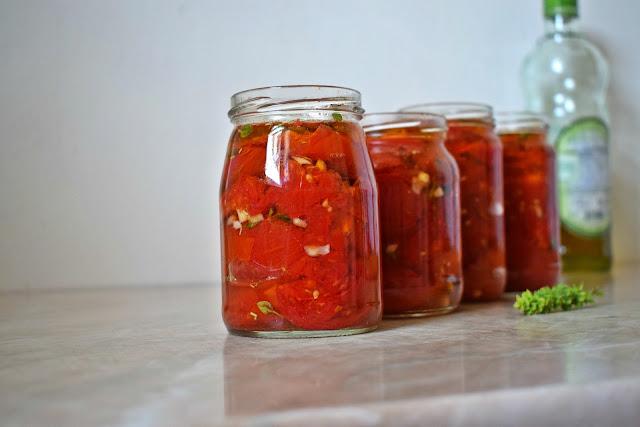 Tiho pečen paradajz Pomoravka