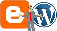 So sánh về ưu nhược điểm của wordpress và blogspot