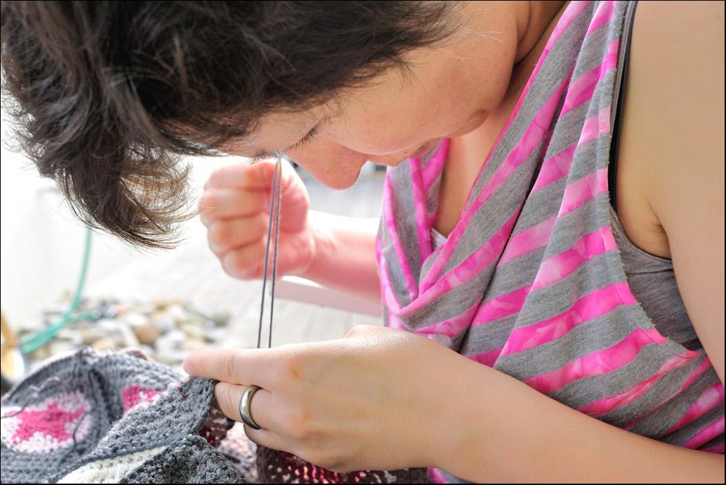 blog couture tricot mamzelle angele coudre un top burda tendance check. Black Bedroom Furniture Sets. Home Design Ideas