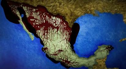 Resultado de imagen de MÉXICO- Un estado fallido que chorrea sangre