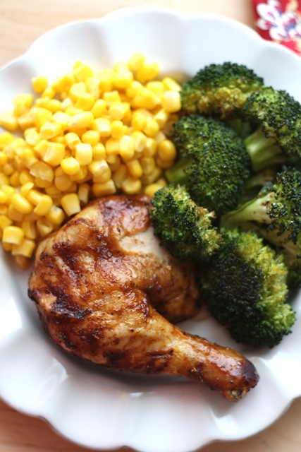 Brown Sugar Spiced Baked Chicken Recipe