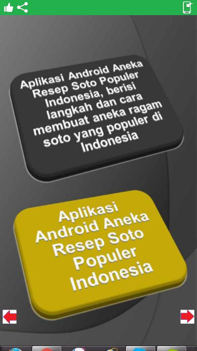 Aplikasi Gratis Aneka Resep Soto