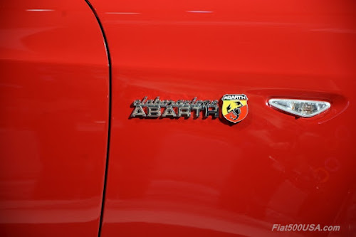 Elaborazione Abarth Badge