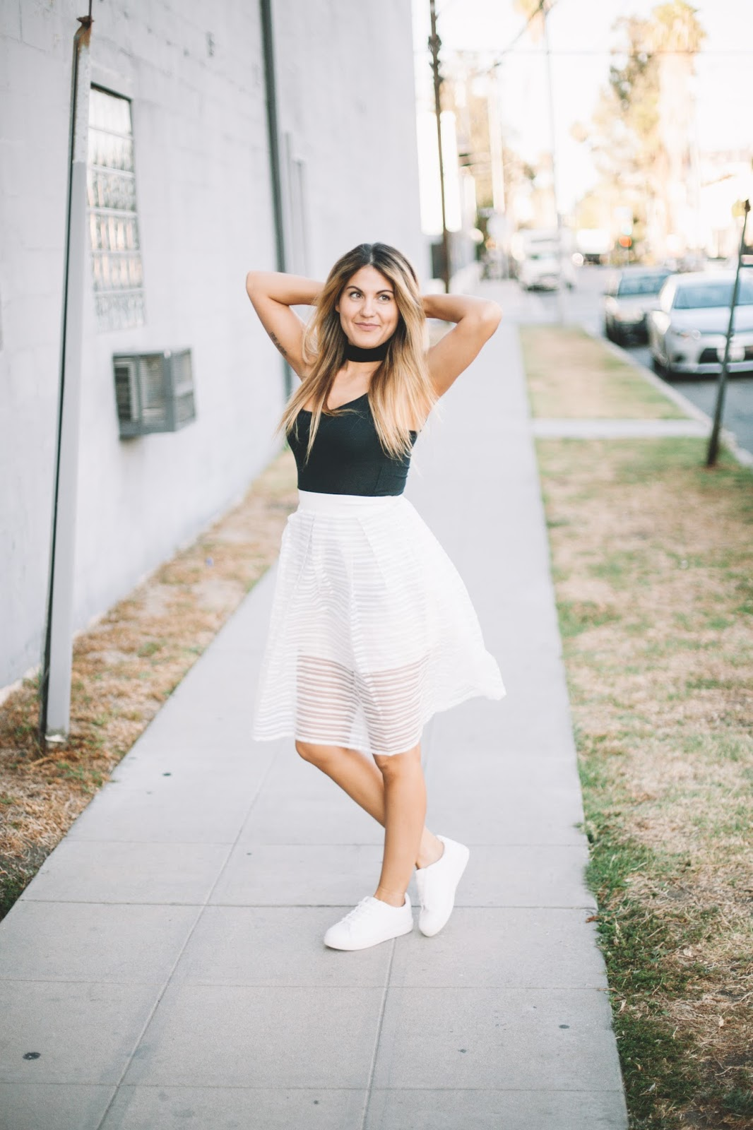 See Through Striped Skirt | My Cup of Chic