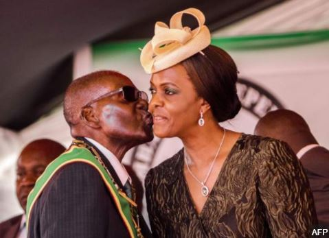Zimbabwe's First lady, Grace Mugabe 'surrenders' to Police in South Africa