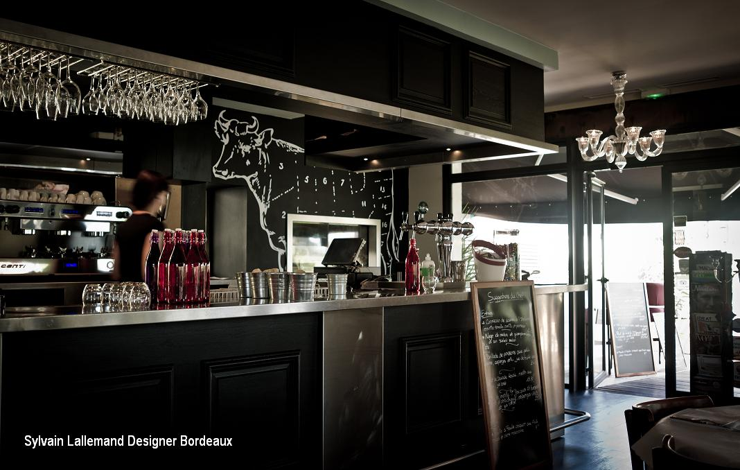 renovation interieur du grand louis merignac sylvain lallemand conception restaurant le grand. Black Bedroom Furniture Sets. Home Design Ideas