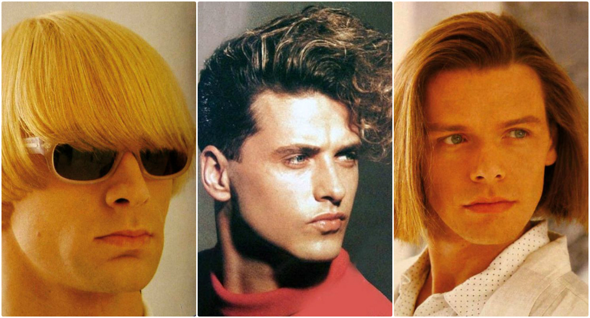 20 Coolest Men\'s Hairstyles in the 1980s ~ vintage everyday