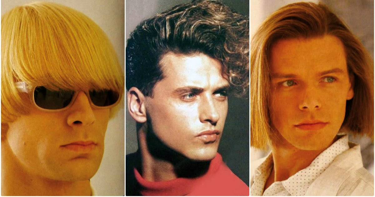 20 Coolest Men's Hairstyles In The 1980s