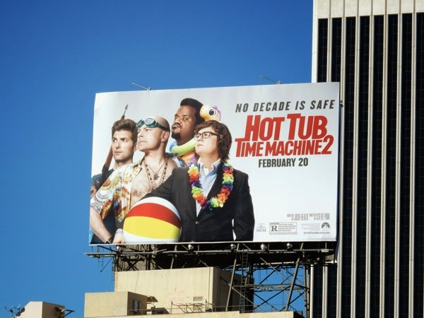Hot Tub Time Machine 2 film billboard