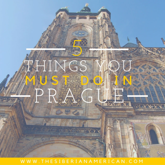 The Wandering Weekenders- Ever wanted to visit Prague? This guest post from Olya at The Siberian American tells you about 5 things you must do when in Prague!