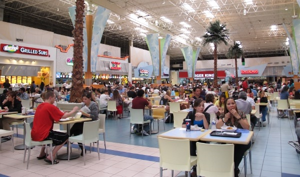 Restaurantes do Sawgrass Mills Miami